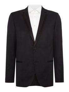 Dinner Jacket with Satin Trim