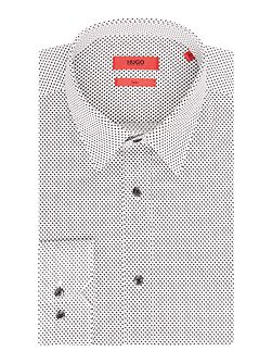 Slim Fit Geo Shirt
