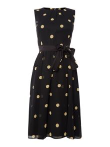 Marella Canapa sleeveless printed dress