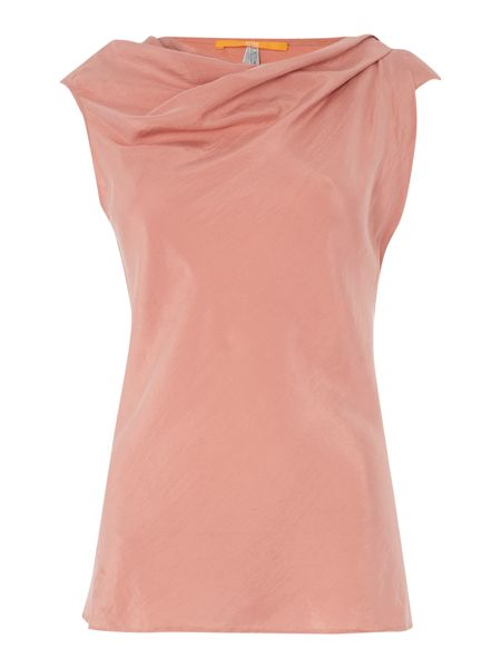 Hugo Boss Sleeveless top with cowl neck and drape