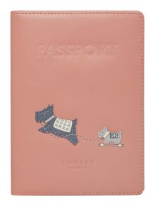 Mini me pink passport cover