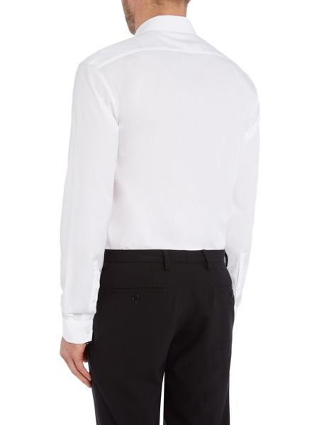 Hugo Slim Fit Black Tipping Shirt
