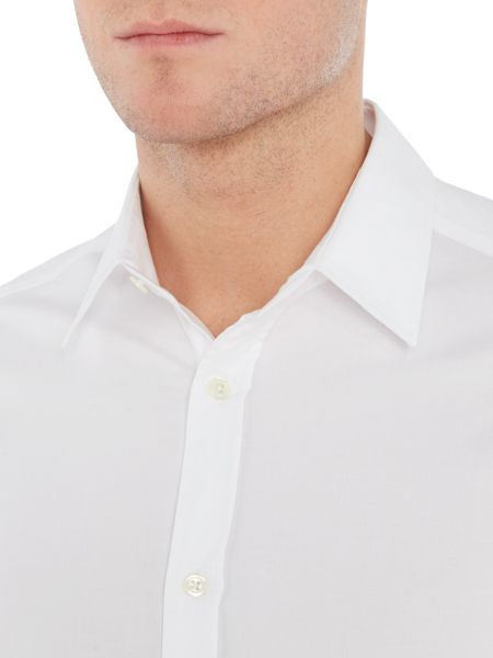 Corsivo Redio Italian fabric Cotton Stretch Shirt