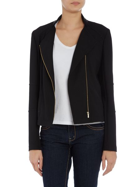 Hugo Boss Textured colourway jacket with pockets