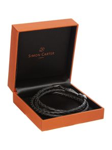 Simon Carter Wing Wrap Leather Bracelet