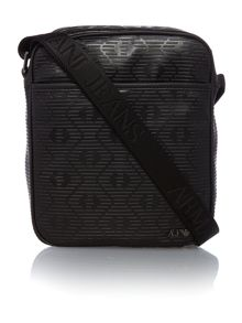 Armani embossed eagles small man pouch
