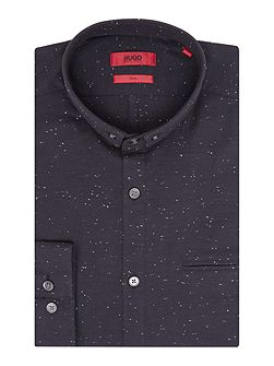 Slim Fit Fleck Shirt