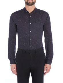 Hugo Slim Fit Fleck Shirt