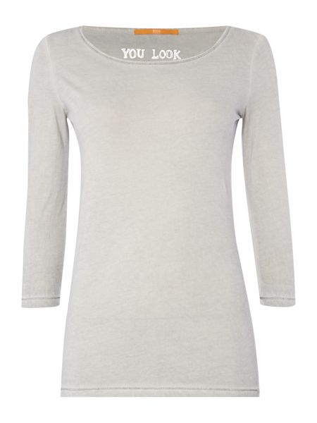 Hugo Boss Jersey top with 3/4 sleeve