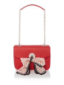 Love Moschino Scarf red shoulder bag