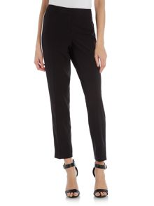 Vince Camuto Zip front colourblock trousers