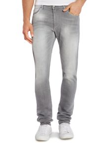 Versace Jeans Tiger skinny fit washed grey jean