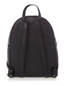 Love Moschino Scarf black Backpack