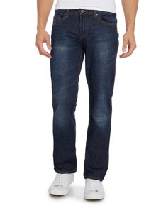 Versace Jeans Tiger regular fit indigo jean