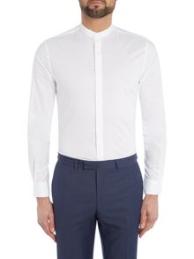 Kenneth Cole Garrison Grandad Collar Shirt