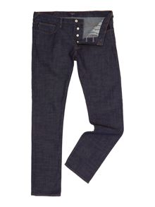 Tapered Fit Rinse Wash Jeans