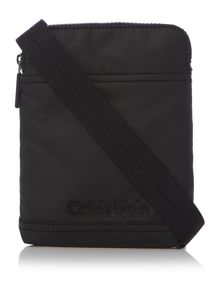 Calvin Klein Mini flat crossover metro bag