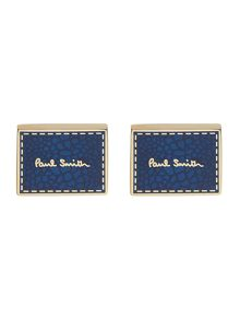 Paul Smith London Stitch logo cufflink