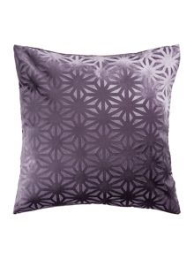 Linea Cross cut velvet design, Purple