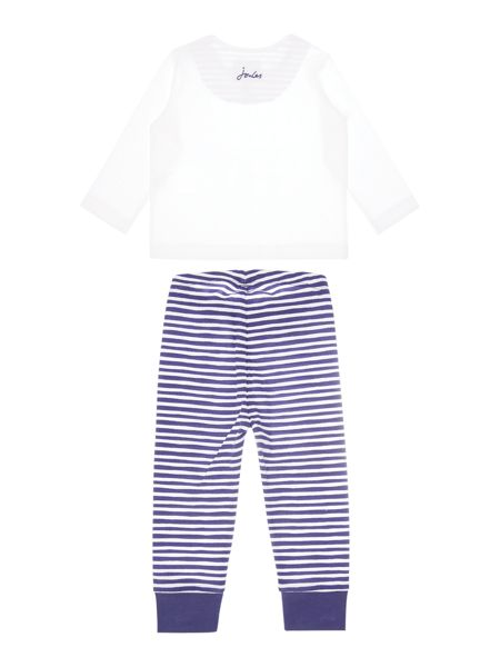 Joules Boys Policeman applique with stripe bottom set