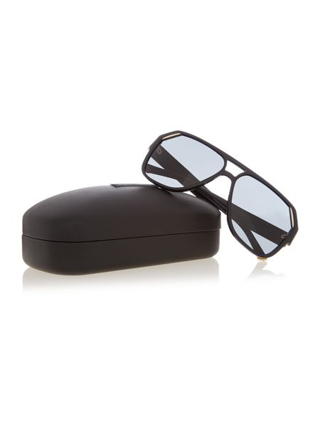 Dolce&Gabbana DG4138 male black square sunglasses