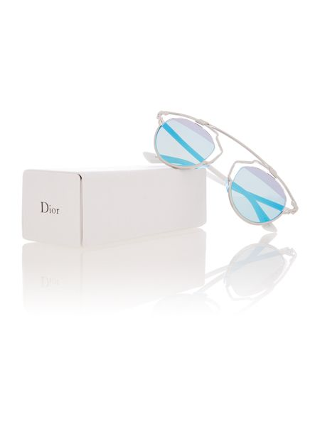 Dior Sunglasses CD SOREAL/S female silver round sunglasses