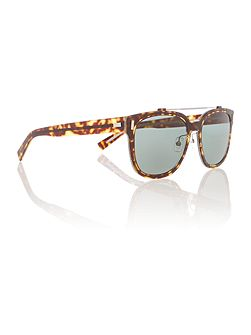CD blackTIE2.0S H male brown aviator sunglasses