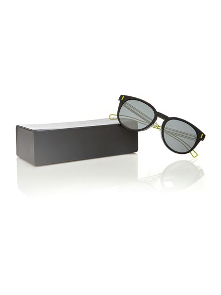 Dior Sunglasses CD blackTIE206FS male grey round sunglasses
