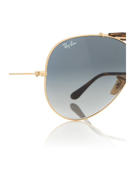Ray-Ban RB3029  male gold aviator sunglasses