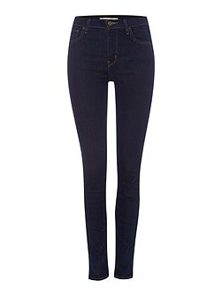 721 High rise skinny jean in lone wolf