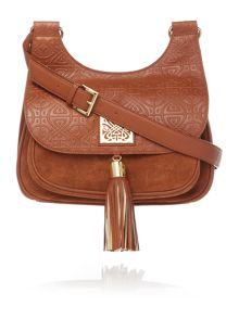Biba Louise saddle handbag