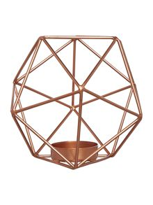Living by Christiane Lemieux Hexagon tealight holder