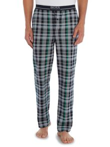 Hugo Boss Check jersey pyjama pants