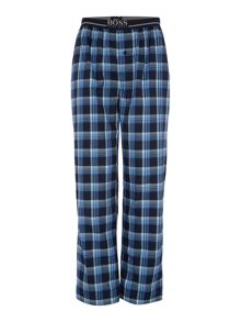 Hugo Boss Check woven pyjama pants