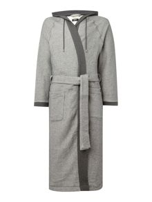 Hugo Boss Heritage hooded night robe