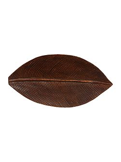 Wooden Leaf Centre piece