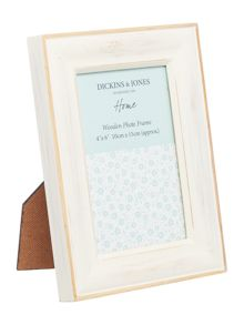 Dickins & Jones Coloured Wood frame 4x6