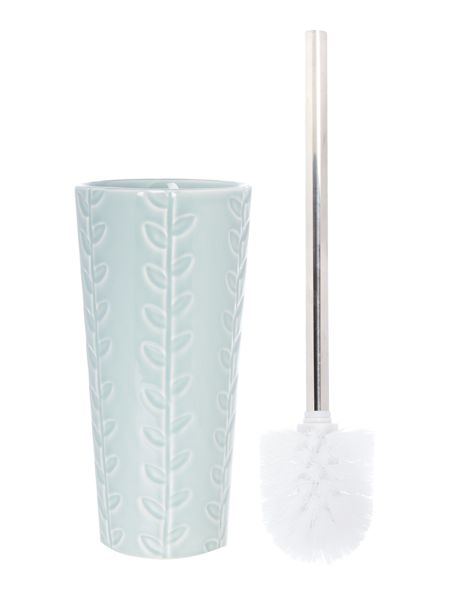 Dickins & Jones Blue embossed toilet brush