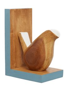 Dickins & Jones Wooden Bird bookends