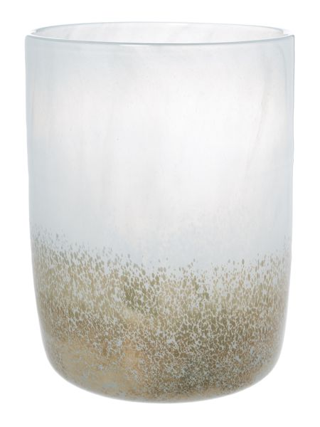 Casa Couture Tiziano gold speckle large vase H28cm