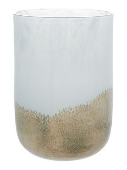 Tiziano gold speckle small vase H23cm