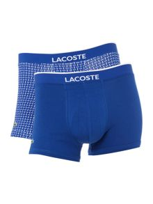 Lacoste 2 pack of coloured combo dash trunk
