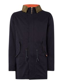 Parka Zip through Jacket