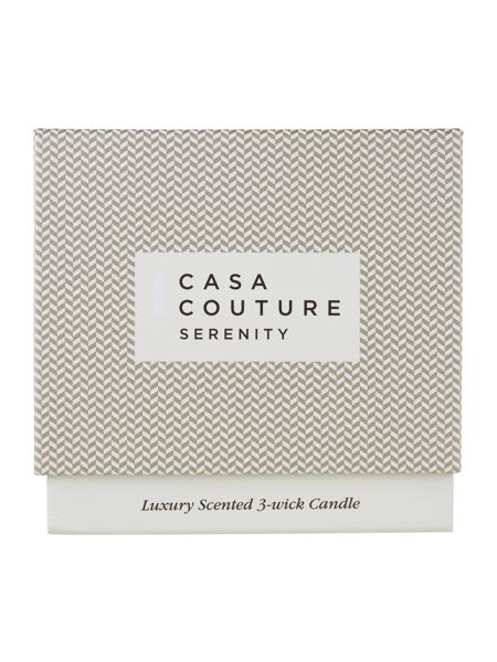 Casa Couture Serenity Scented 3 Wick Candle