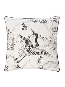 Living by Christiane Lemieux Hiroto Crane Cushion