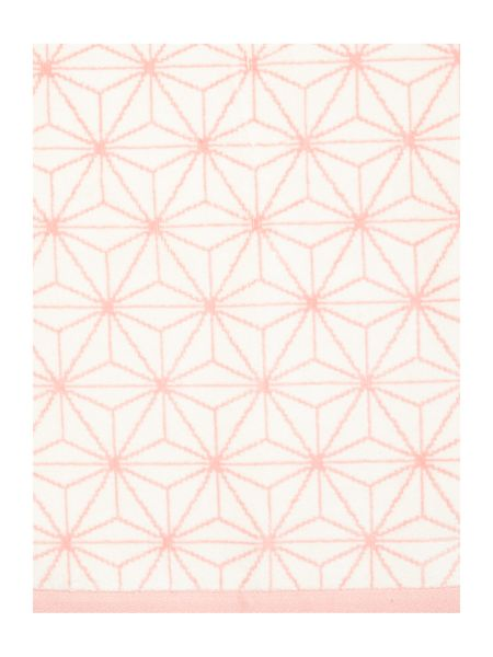 Linea Ceremony pink bath sheet