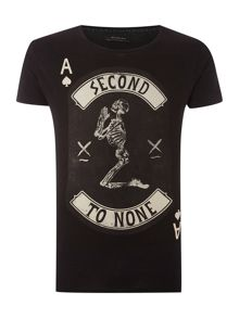 Second To None Card Graphic T Shirt