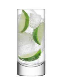 LSA Bar clear highball 420ml set of 4