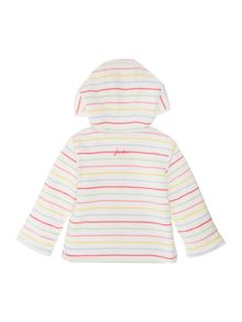 Girls Hooded reversible sweatshirt fleece