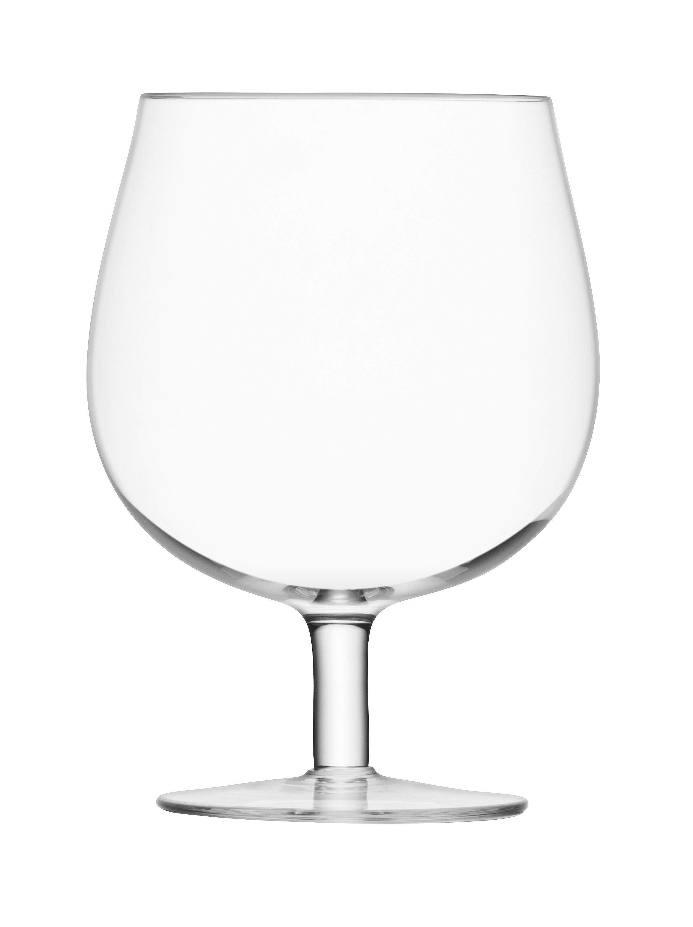 Image of LSA Bar clear craft beer glass 550ml set of 2